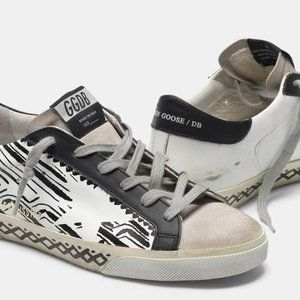 GOLDEN GOOSE Super-Star sneakers with tattoo print